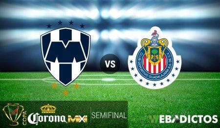 Monterrey vs Chivas, Semifinal Copa MX C2017 | Resultado: 1-2