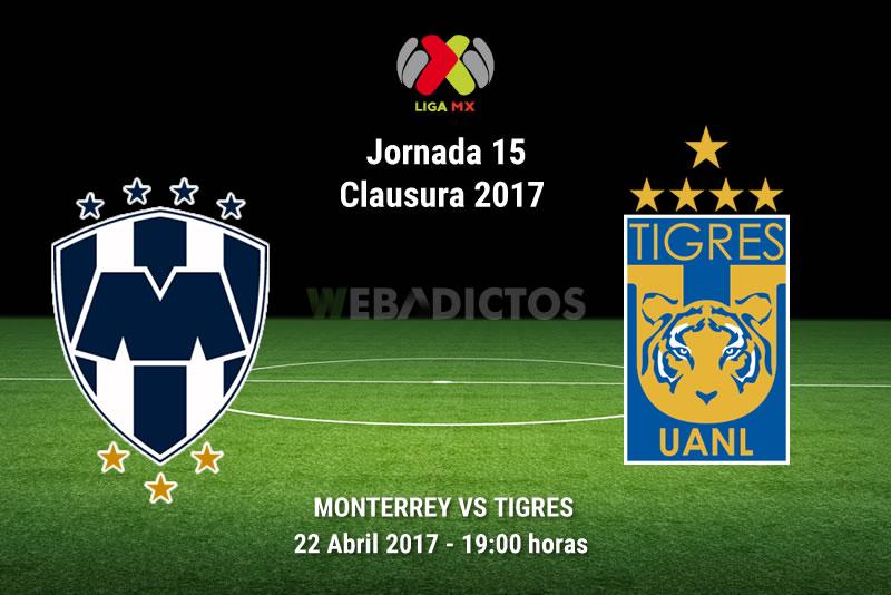 Monterrey vs Tigres, Clásico Regio 110   Resultado: 1-0 - monterrey-vs-tigres-clasico-regio-110-j15-clausura-2017