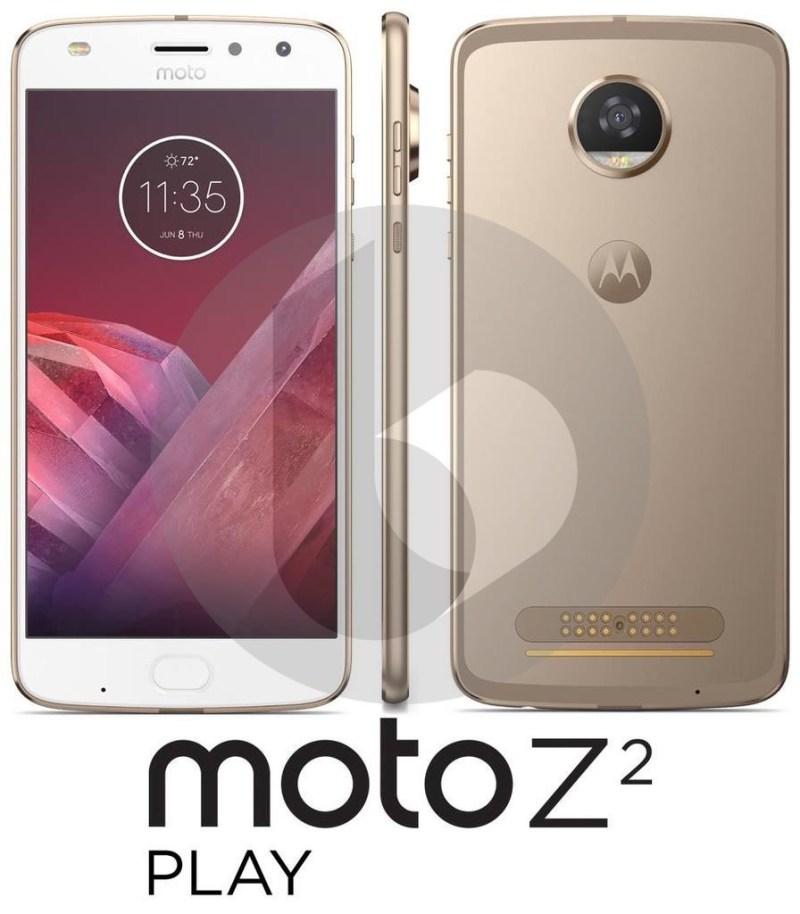 Aparece primera imagen del Moto Z2 Play - moto-z2-play-eleak