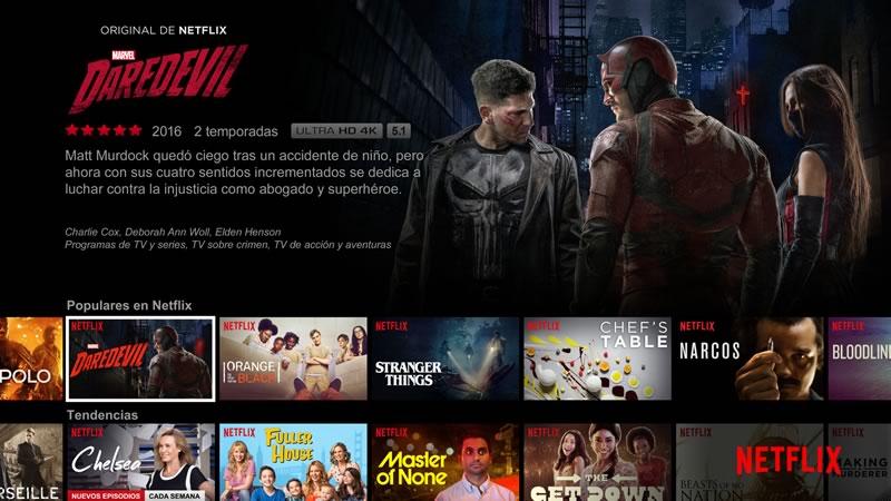 Netflix sustituye las estrellas por pulgares - netflix-pulgares