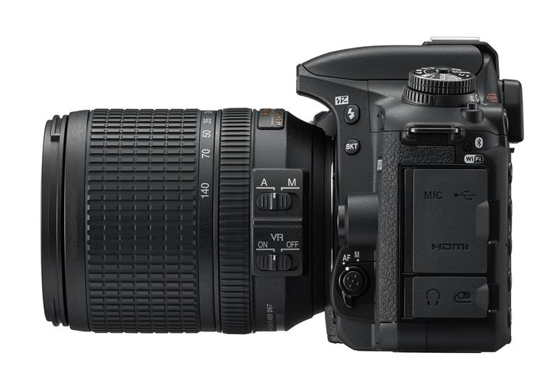 Nikon lanza la nueva cámara D7500 - nikon-d7500_18_140_left