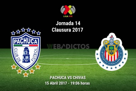 Pachuca vs Chivas, Liga MX Clausura 2017 | J14 | Resultado: 0-0