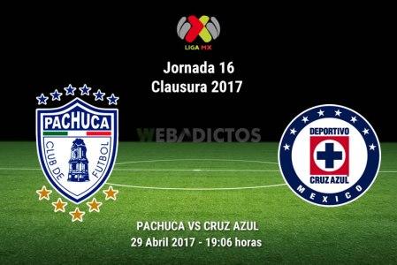 Pachuca vs Cruz Azul, J16 del Clausura 2017 | Resultado: 2-2