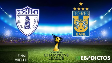 Pachuca vs Tigres, Final Concachampions 2017 ¡En vivo por internet! | Vuelta