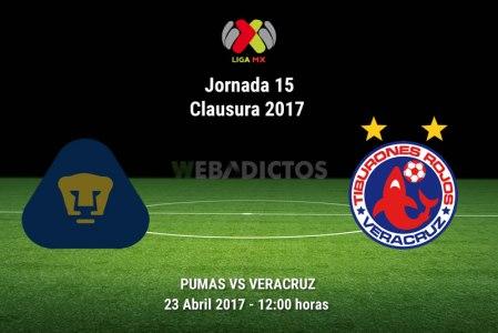 Pumas vs Veracruz, Jornada 15 Clausura 2017 | Resultado: 0-2