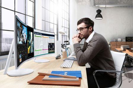 Samsung lanza monitores curvos con tecnología Quantum dot en México - quantumdotcurvegamingmonitor6
