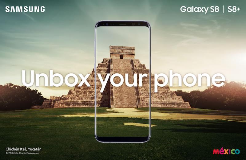 samsung galaxy s8 mexico Samsung Galaxy S8 fue presentado en México