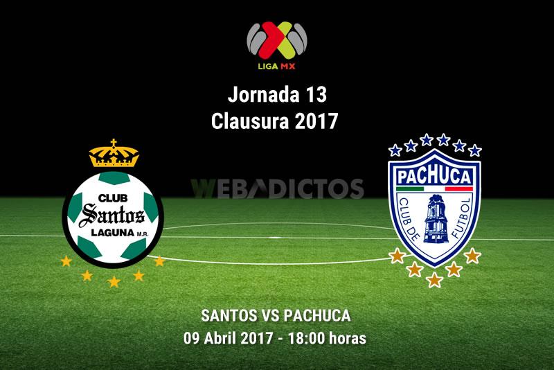 Santos vs Pachuca, Jornada 13 Liga MX C2017 | Resultado: 1-0 - santos-vs-pachuca-j13-clausura-2017