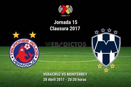 Veracruz vs Monterrey, Jornada 16 Clausura 2017 ¡En vivo por internet!