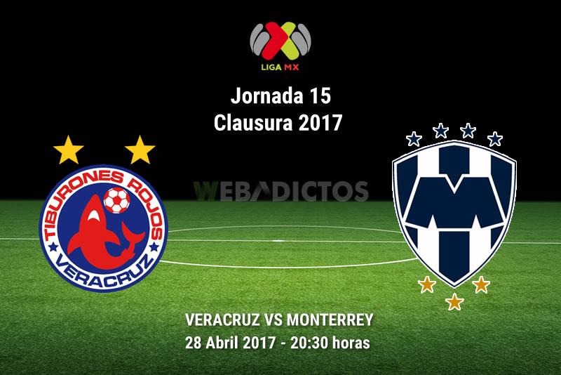 Veracruz vs Monterrey, Jornada 16 Clausura 2017   Resultado: 1-0 - veracruz-vs-monterrey-j16-clausura-2017