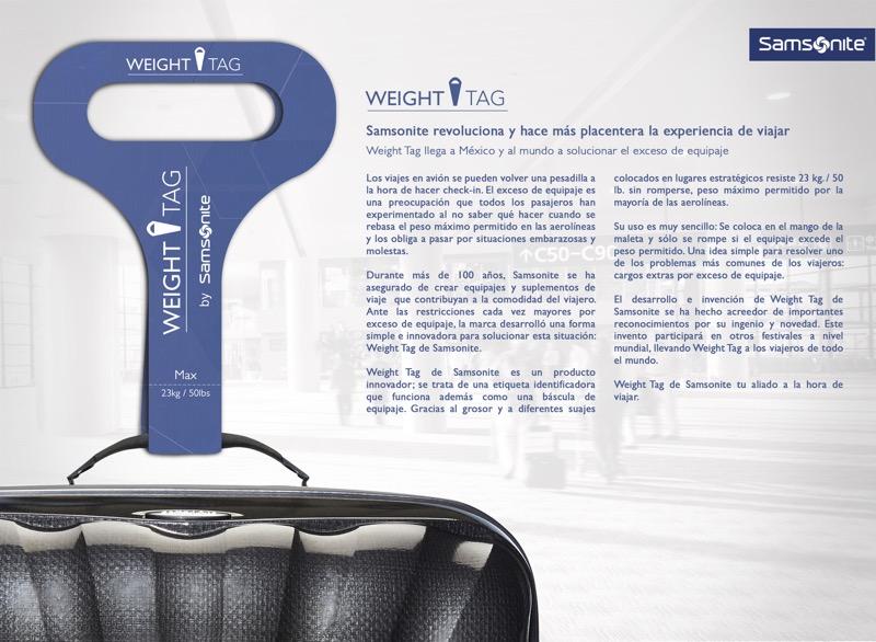 weight tag comunicado 1 800x586 Weight Tag llega a México a solucionar el exceso de equipaje