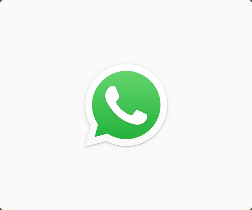WhatsApp trabaja en ofrecer el servicio de pagos móviles - whatsapp-logo-white-bg