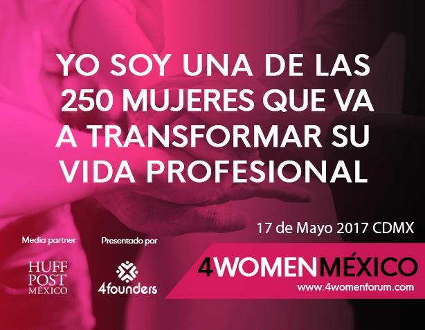 4Women Forum México, una comunidad para disminuir la brecha laboral de género - 4womenforum_w