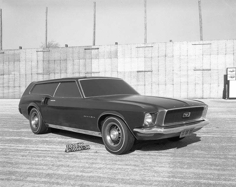 Los 10 modelos de Mustang que nunca se materializaron - 6-mustang-prototipofamiliar-1966
