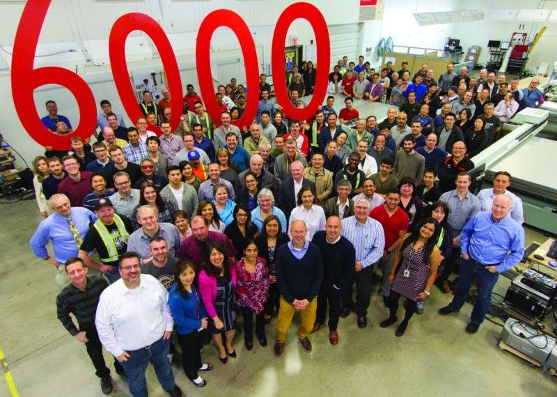 Canon anuncia la venta de la impresora número 6000 Océ Arizona - 6000-oce-arizona1-800x571