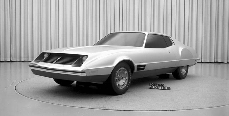 Los 10 modelos de Mustang que nunca se materializaron - 8-mustangconcept-1971