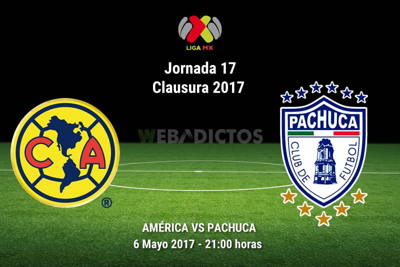 América vs Pachuca, Liga MX Clausura 2017 | Resultado: 2-3 - america-vs-pachuca-j17-clausura-2017