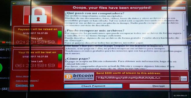 Atacan la red corporativa de Telefónica y demás empresas españolas - ataque-ransomware-telef