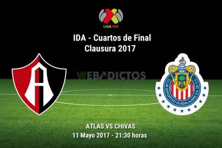 Atlas vs Chivas, Cuartos de Final C2017 | Resultado: 1-0