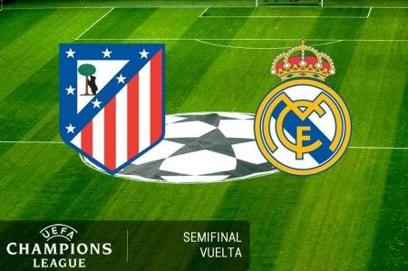 Atlético de Madrid vs Real Madrid, Semifinal Champions 2017 | Resultado: 2-1