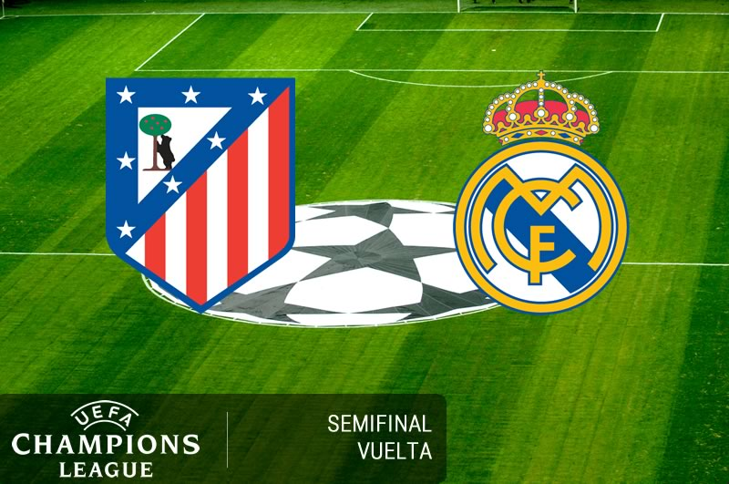 Atlético de Madrid vs Real Madrid, Semifinal Champions 2017 | Resultado: 2-1 - atletico-de-madrid-vs-real-madrid-semifinal-champions-2017