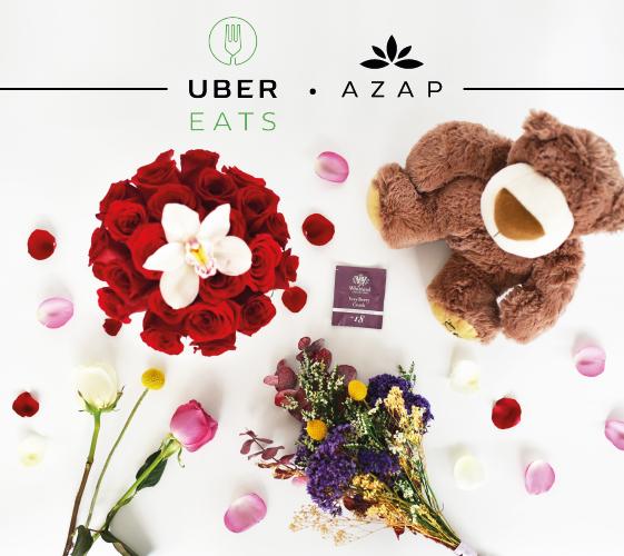 azap flores y regalos se une a ubereats para el dia de las madres 1 Para el día de las Madres, AZAP entregará flores y regalos a través de UberEATS