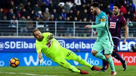 Barcelona vs Eibar, Liga de España 2017 | Resultado: 4-2