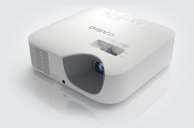 Los proyectores Casio fueron la pieza clave de la muestra artística de Taro Izumi - casio-lampfree-xj-f100w-800x529