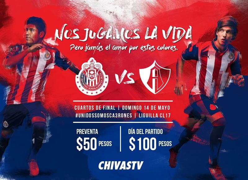 chivas vs atlas liguilla c2017 chivas tv Chivas vs Atlas, Liguilla del Clausura 2017 | Resultado: 1 0