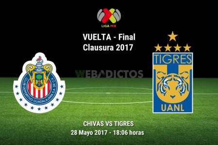 Chivas vs Tigres, Final Liga MX Clausura 2017 ¡En vivo por internet!