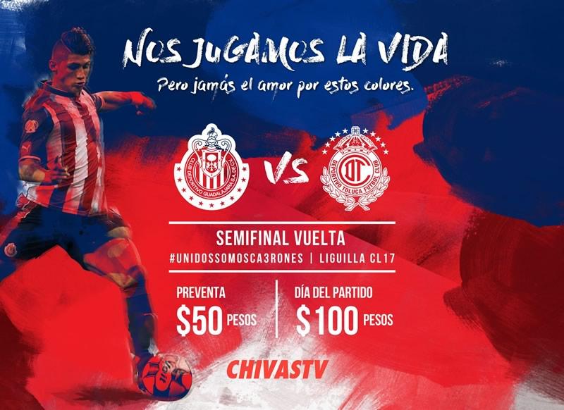 Chivas vs Toluca, Semifinal Clausura 2017   Resultado: 1-1 - chivas-vs-toluca-semifinal-c2017-chivas-tv