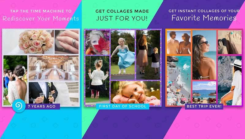 LifeReel: crea collage de fotos usando inteligencia artificial - collage-de-fotos-lifereel-app