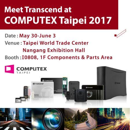 Transcend presentará sus soluciones Industriales en Computex Taipei 2017