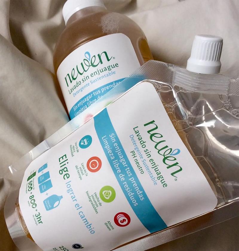 detergente sin enjuague Crean detergente que no necesita enjuague, ahorra agua y electricidad