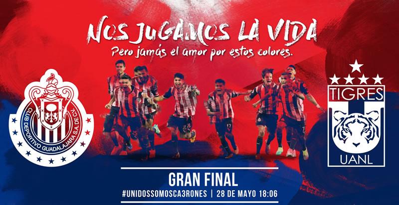 Final Chivas vs Tigres por Chivas TV a precio especial ¡Aprovéchalo! - final-chivas-vs-tigres-chivas-tv