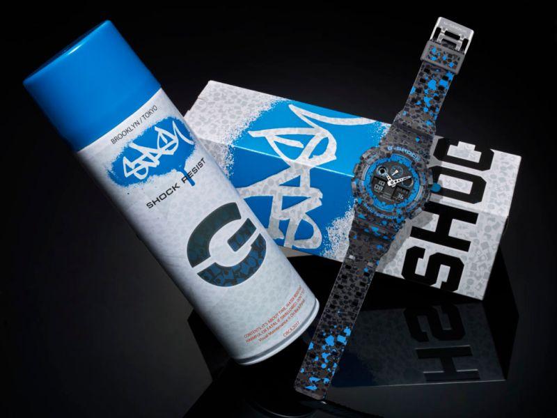 ga 100st 2a 01 g shock por stash 800x600 Nuevo reloj G Shock en colaboración con el artista de graffitti STASH, de edición limitada
