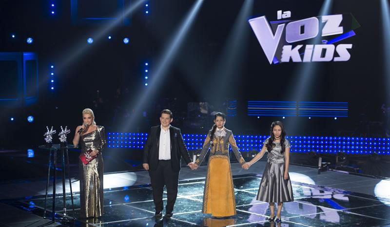 Eduardo Barba gana primera temporada de La Voz Kids