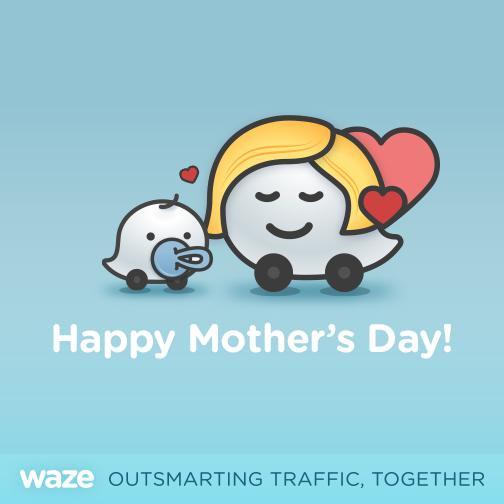 Día de las Madres: funciones de Waze que te pueden sacar de un apuro - happy-mother_s-day