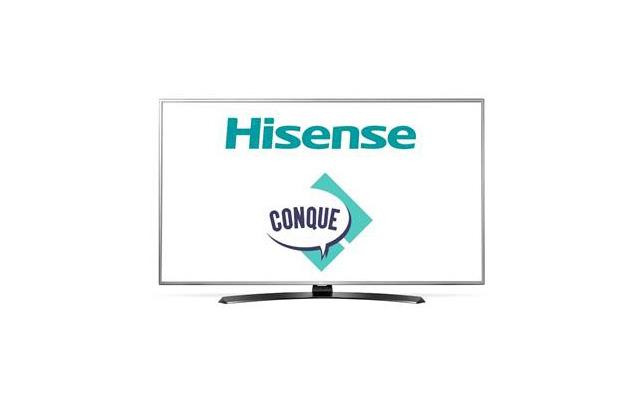 Hisense patrocinador del evento de cómics y entretenimiento: CONQUE - hisense-conque2017