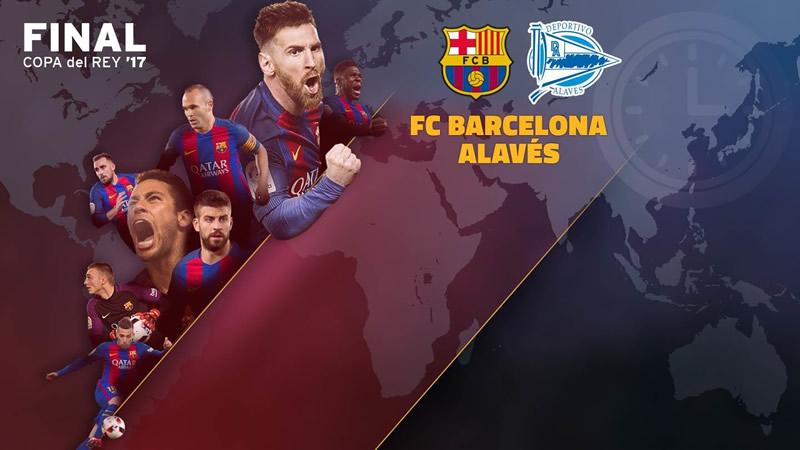 A qué hora juega Barcelona vs Alavés y en qué canal lo pasan, Final Copa del Rey 2017 - horario-barcelona-vs-alaves-final-copa-del-rey-2017