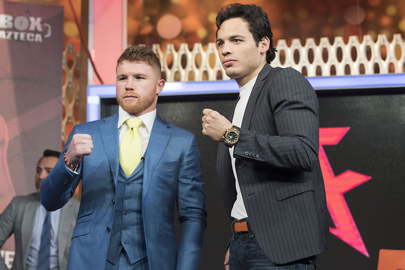 A qué hora es la pelea de Canelo vs Chavez Jr. y en qué canal la pasan - horario-canelo-vs-chavez-jr