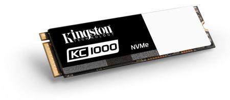 Kingston presenta SSD KC1000, fabricada para el usuario avanzado