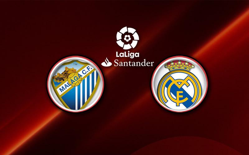 Real Madrid vs Málaga, Liga de España 2017   Resultado: 0-2 - malaga-vs-real-madrid-2017