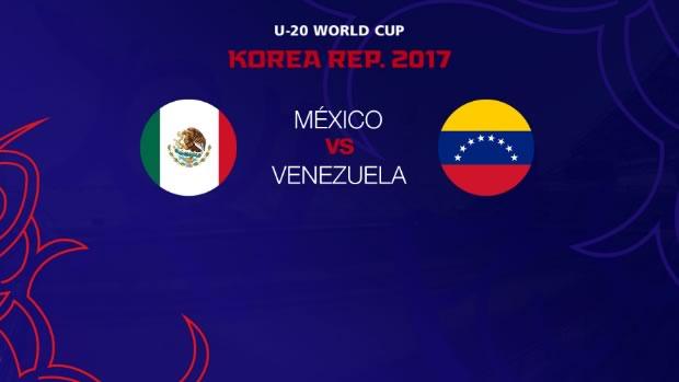 "México Sub 20 a Octavos de Final en el Mundial"""