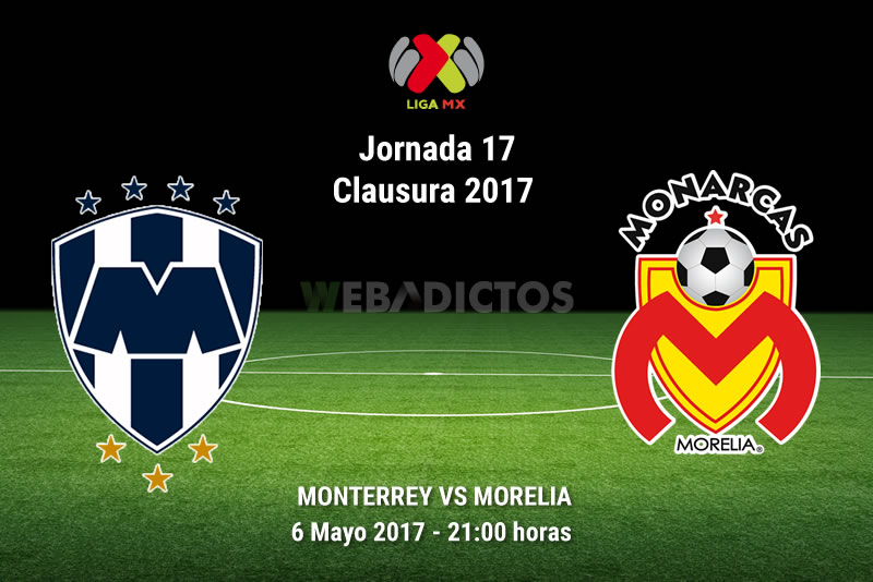 Monterrey vs Morelia, Jornada 17 del Clausura 2017 | Resultado: 1-2 - monterrey-vs-morelia-j17-clausura-2017