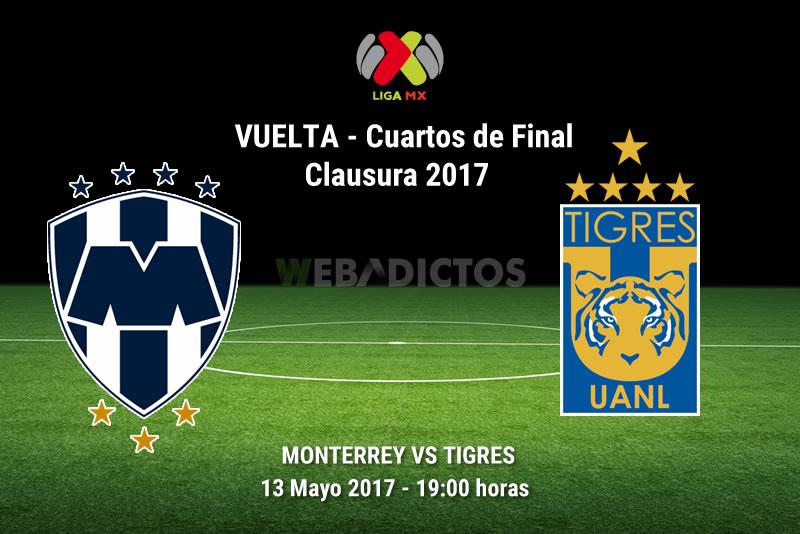 Monterrey vs Tigres, Liguilla del Clausura 2017 | Resultado: 0-2 - monterrey-vs-tigres-liguilla-clausura-2017