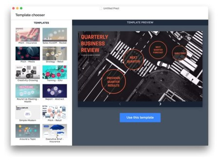 Prezi Next: para crear, presentar y analizar presentaciones