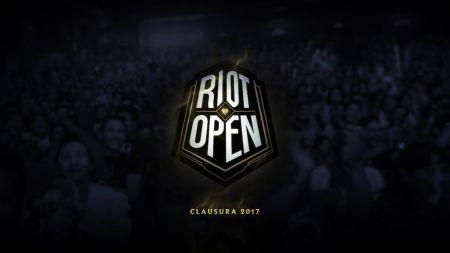 Riot Open: Clausura 2017 ¡Inscripciones abiertas!