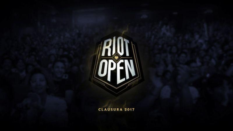 riot open inscripciones abiertas 800x450 Riot Open: Clausura 2017 ¡Inscripciones abiertas!