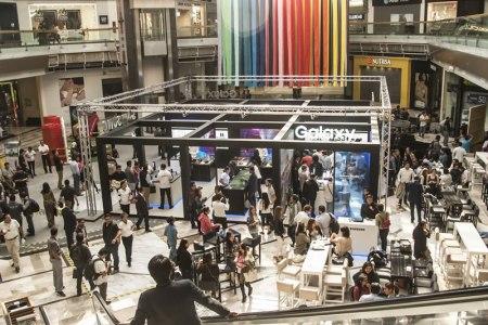 Samsung inaugura nuevo Galaxy Studio en Perisur